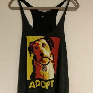 Obey Adopt Tank Top